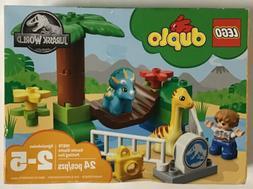 LEGO DUPLO Jurassic World Gentle Giants Petting Zoo 10879 Bu