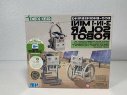 4M Eco Engineering 3-in-1 Mini Solar Robot Science Discovery