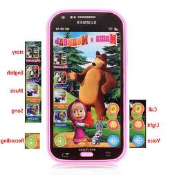 Educational Baby Phone Toy Electronic Learning Russian Langu