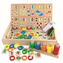 Educational Toys for Toddlers - Wooden Color and Shape Geome