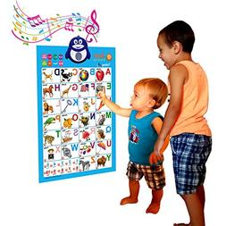 Just Smarty Electronic Interactive Alphabet Wall Chart, Talk