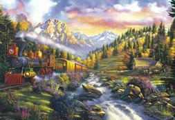 Buffalo Games Engine 47 Train 2000 pcs Jigsaw Puzzle