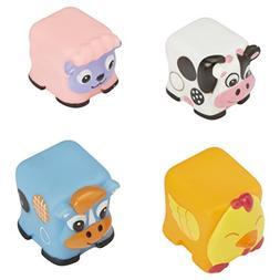 ALEX Toys Farm Friends Block Squirters Bathtub Toy