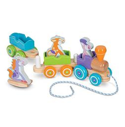 Melissa & Doug 4608 First Play Wooden Rocking Farm Animals P