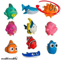 BonBon Fish Bath Floating Toddler Play Baby Toys Water Batht