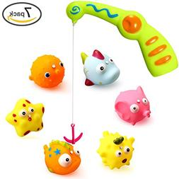 Ohuhu Baby Fishing Bath Toy, Children Kids Toddlers Bath Wat