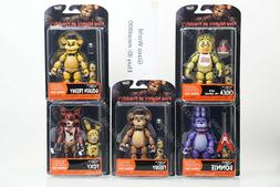 "Funko Five Nights At Freddy's Articulate Action 5"" Figures F"