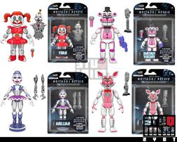 "FNAF FIVE NIGHTS AT FREDDY'S SISTER LOCATION BABY  5"" Articu"