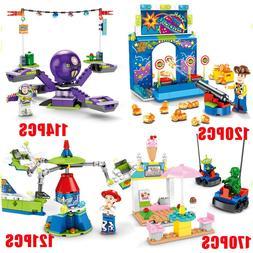 <font><b>Toy</b></font> Story 4 Amusement Park Block Set Woo