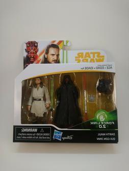 Star Wars Force Link 2.0 Darth Maul & Qui-Gon Jinn 2-Pack