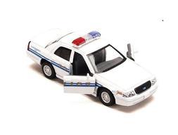 "5"" Kinsmart Ford Crown Victoria Police Interceptor 1:42 Diec"