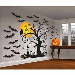 FRIENDLY WALL DECORATIONS Halloween Party Scene Setter Tree