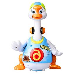 Coolecool Funny Baby Toys 18 Months Hip-hop Dancing Goose Mu