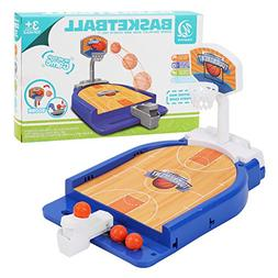 Yueqi kids funny table sports toys basketball shooting game