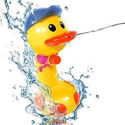 Funny Water Gun Duck, Water Pistol Spray Pump, Bath Toys Swi