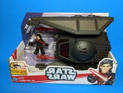 Galactic Heroes Star Wars The Last Jedi Kylo Ren and Tie Sil