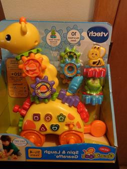 VTech GearZooz Spin and Laugh Gearaffe for girls boys toy -