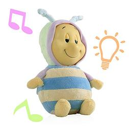 Nuby Glo-Pals with Soothing Music and Soft Light, Bee