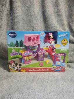 VTech Go! Go! Smart Wheels Minnie Mouse Ice Cream Parlor