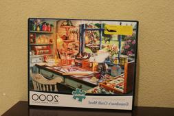 Grandma's Craft Shed 2000 Piece Jigsaw Puzzle Buffalo Game