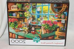 Grandpa's Potting Shed 2000 Piece Puzzle by Buffalo Games BR