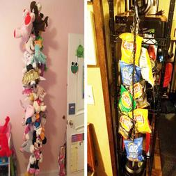 Great Decor while Neatly Organizing Kid's Toys Stuffed Anima