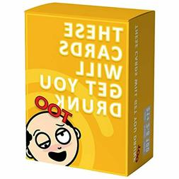 GrownUp Toys These Cards Will Get You Drunk Too Expansion -