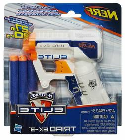 Nerf Gun N-Strike Elite Blaster Darts Toy Strongarm Bullet F