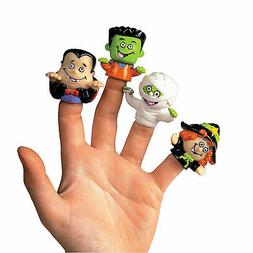 Halloween Finger Puppets - Party Favor Toys - 72 Pieces