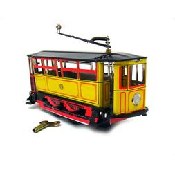 hand made trolley electric car wind up