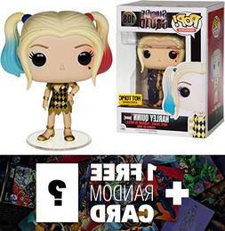 Harley Quinn : Funko POP! x Suicide Squad Figure + 1 FREE Of