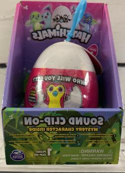 Hatchimals Series 1 Sound Clip-On Mystery Character Inside