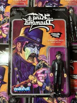 Heavy Metal Band KING DIAMOND Top Hat Super7 ReAction Action
