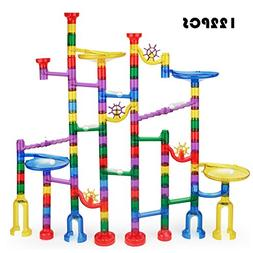 Holiday toy Marble Run Toy - Meland 122 Pcs Marble Game STEM
