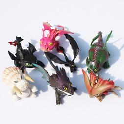 How to Train Your Dragon 7pcs Action Figures Set: Toothless