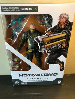 """IN HAND HASBRO OVERWATCH ULTIMATES 6"""" SOLDIER: 76 ACTION FIG"""