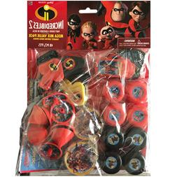 INCREDIBLES 2 FAVOR PACK  ~ Birthday Party Supplies Toys Meg