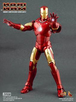 Hot Toys Iron Man Mark III Movie Masterpiece Series