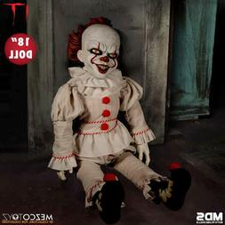 Mezco IT 2017 Pennywise 18-Inch Roto Doll* BRAND NEW* FREE U