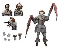 """NECA - IT - 7"""" Scale Action Figure - Ultimate Pennywise Th"""