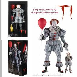 Neca It Pennywise 18 inch 1/4 Scale Action Figure 2017 NEW