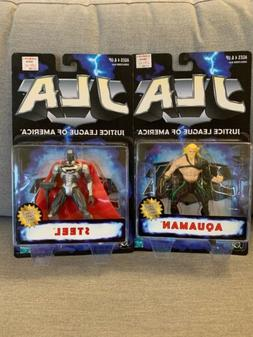 JLA Justice League of America STEEL Superman & AQUAMAN Actio