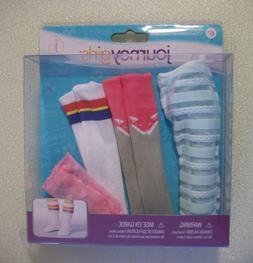 "Journey Girl stockings hose socks-Toys R Us-NIB-18"" doll-Ame"