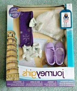"""Journey Girls Fashion Pack Accessories Winter Italy 18"""" Doll"""