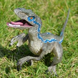 Jurassic Blue Raptor Dinosaur Velociraptor Toy Educational M