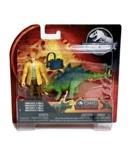 Jurassic World 2 Park Legacy Claire & Stegosaurus Action Fig
