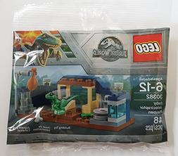 LEGO Jurassic World Baby Velociraptor Playpen  Bagged