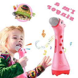 NeWisdom Kids Karaoke Microphone, toddler toys gifts for gir