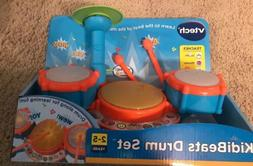 VTech KidiBeats Drum Set Kids learning toy three drum pads f
