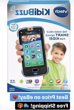 VTech KidiBuzz Hand-Held Smart Device Black Toy Phone For Ki